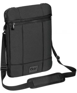 "TSS847AU-Targus TSS847AU 12"" Grid High Impact Vertical Slipcase Extreme Urban Protection Shoulder Strap Dust & Weather Resistant shock-absorbing corner"