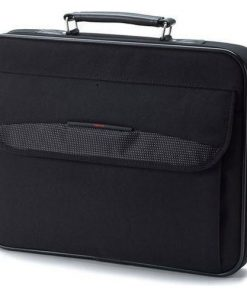 "PX1181E-2NCA-Toshiba 13.3"" Business Topload Notebook Laptop Bag Carry Case Black Colour Smooth Carry Handles Shoulder Strap Light Weight Durable LS"