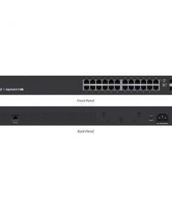 ES-24-LITE-AU-Ubiquiti EdgeSwitch Managed Gigabit Switch  24 Port with SFP 24 Port