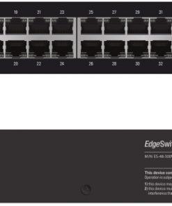ES-48-500W-AU-Ubiquiti EdgeSwitch Managed PoE+ Gigabit  Switch  48 Port 500W
