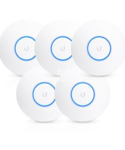 UAP-AC-HD-5-Ubiquiti UniFi Wave 2 Dual Band 802.11ac High Density AP 5 Pack - Does Not Include PoE Injector