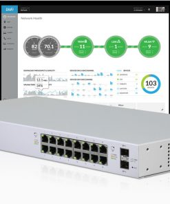 US-16-150W-AU-Ubiquiti UniFi 16-port Managed PoE+ Gigabit Switch with SFP 150W