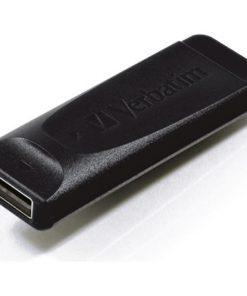 98695-Verbatim USB2.0 Store 'n' Go Slider USB Drive 8GB Black