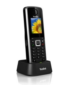 SIP-W52H-Yealink W52H HD Business IP-DECT Cordless Handset. For use with W52P IP-DECT Phones