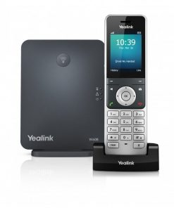 W60P-Yealink W60P Wireless DECT Solution including W60B Base Station and 1x W56H Handset