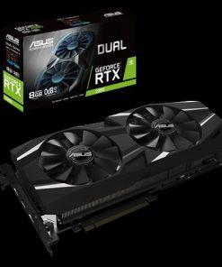 DUAL-RTX2080-8G-ASUS nVidia DUAL-RTX2080-8G GeForce RTX2080 8GB GDDR6 Graphics Card