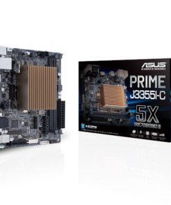 PRIME J3355I-C-ASUS PRIME J3355I-C Intel Celeron Dual-Core SoC fanless microATX Motherboard with 5X Protection HDMI VGA SATA 6G