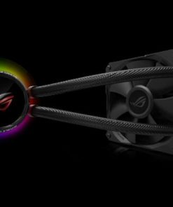 ROG RYUO 120-ASUS ROG RYUO 120 all-in-one liquid CPU cooler with color OLED