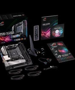 ROG STRIX X370-I GAMING-ASUS ROG STRIX X370-I GAMING AM4 mITX MB 2xDDR4 1xPCe 1xM.2 4xSATA 6xUSB3.1