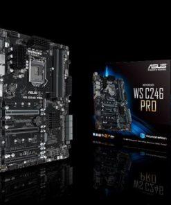 WS C246 PRO-ASUS WS C246 PRO WS MB Intel LGA1151 ATX Motherboard