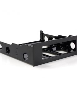 "ACRANY35TO525BK-Aywun 5.25"" to 3.5"" Front Face Plate bracket.  No screw bulk pack. Product Image for reference and is subject to change without notice."