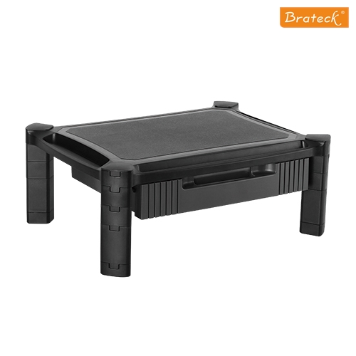 BT-AMS-2-Brateck Height-Adjustable Modular Multi Purpose Smart Stand XL with Drawer for most 13''-32'' Weight Capacity 10kg