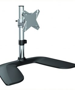 """LDT02-T01-Brateck Single Monitor Stand Free Standing  from 13''-27"""""""