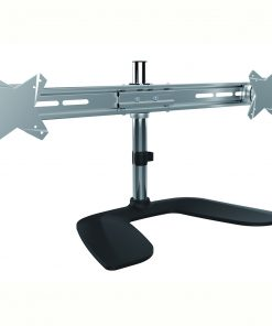 LDT02-T02-Brateck  Dual Monitor Horizontal Desk Stand from 13''-27""