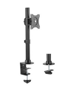 """LDT08-T01-Brateck Single Monitor Desktop Stand for 13""""-27"""" LCD Monitors and Screens"""