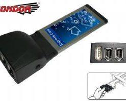 CO-EXP0090-Condor USB & IEEE1394 Exp Card 1 x USB