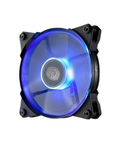 R4-JFDP-20PB-R1-Coolermaster Jetflo 120mm 4Pin PWM Case Fan with Blue LED