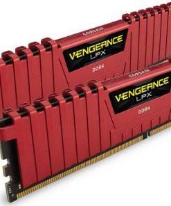 CMK16GX4M2A2133C13R-Corsair Vengeance LPX 16GB (2x8GB) DDR4 2133MHz C13 Desktop Gaming Memory Red