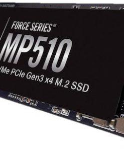 CSSD-F480GBMP510-Corsair Force MP510 480GB NVMe PCIe SSD M.2(2280) - 3D TCL NAND 3480/2000 MB/s 440/360K IOPS 1.8mil Hrs MTBF 5yrs wty ~MZ-V7S500TBW