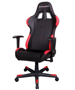 OH/FD99/NR-DXRacer Formula FD99 Gaming Chair Black & Red - Sparco Style/Racing Bucket Office/Gaming Computer Seat/Ergonomic Desk Chair