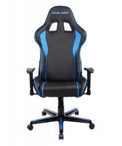 OH/FL08/NB-DXRacer Formula FL08 Gaming Chair - Sparco Style Neck/Lumbar Support Black & Blue