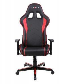 OH/FL08/NR-DXRacer Formula FL08 Gaming Chair - Sparco Style Neck/Lumbar Support Black & Red