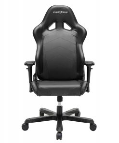 OH/TS29/N-DXRacer Tank TS29 Gaming Chair Black - Sparco Style Neck/Lumbar Wide Seating Support/Maximum load 220kg/Universal Gaming Padded Seat