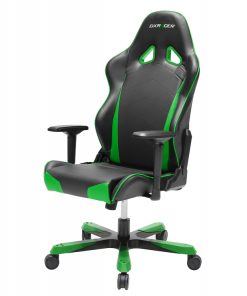 OH/TS29/NE-DXRacer Tank TS29 Gaming Chair - Wide Seating/Maximum load 220kg  Black & Green