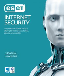 EISH3D1Y-ESET Internet Security OEM 3 Devices 1 Year Download Physical Printed Card