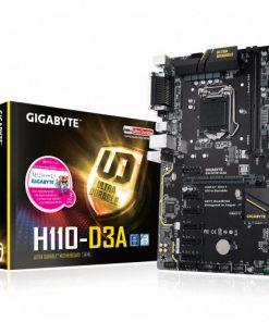 GA-H110-D3A-Gigabyte H110 D3A ATX MB LGA1151 2xDDR4 6xPCIE VGA M.2 4xSATA3 4xUSB3.1 6xUSB2 COM LPT GbE LAN ~GA-H310M-H GA-H310M-S2H