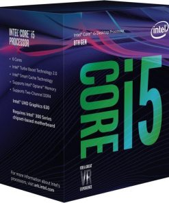 BO80684I58400-Intel Core i5 8400 2.8Ghz (4.2GHz Turbo) + 16GB Optane LGA1151 8th Gen 9MB 6-Core 6-Thread 65W Unlocked UHD Graphic 630 Retail Box Coffee Lake