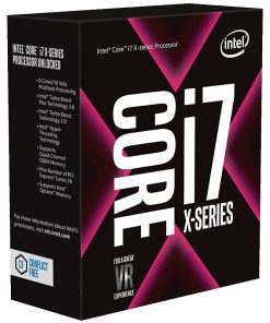 BX80673I77800X-Intel Core X i7-7800X 3.5Ghz Skylake-X 6-Core s2066 8.25MB Cache 140W No Fan Unlocked X299 MB required Retail Boxed 3 Years Warranty