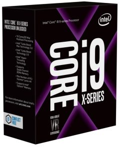 BX80673I97940X-Intel Core X i9-7940X 3.1Ghz Skylake-X 14-Core s2066 19.25MB Cache 165W No Fan Unlocked X299 MB required Retail Boxed 3 Years Warranty