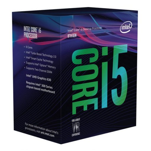 BX80684I58400-Intel Core i5-8400 2.8Ghz s1151 Coffee Lake 8th Generation Boxed 3 Years Warranty