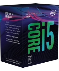 BX80684I58600K-Intel Core i5-8600K 3.6Ghz No Fan Unlocked  s1151 Coffee Lake 8th Generation Boxed 3 Years Warranty LS
