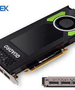 P4000-Leadtek nVidia Quadro P4000 PCIe Workstation Card 8GB DDR5 4xDP 1.4 4x5120x2880@60Hz 256-Bit 243GB/s 1792 Cuda Core Single Slot Full Height ~M4000