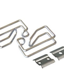 CFH01-1-A-LinkBasic Cable Management Ring (Steel) - Silver
