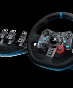 941-000115-Logitech G29 Driving Force Racing Wheel PS3 & PS4 Dual motor force feedback Helical gearing with anti-backlash 900° steering
