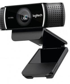 960-001090-Logitech C922 Pro Stream Full HD Webcam 30fps at 1080p Autofocus Light Correction 2 Stereo Microphones 78° FoV 3mths XSplit Premium License ~VILT-C920