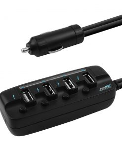 MB-USBC480-mbeat® 4 Ports USB Rapid Car Charger