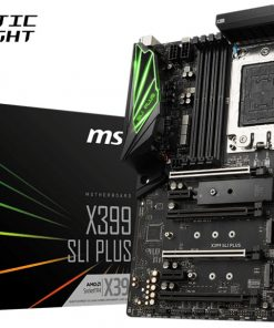X399 SLI PLUS-MSI X399 SLI PLUS ATX Motherboard - TR4 Ryzen 8xDDR4 4xPCI-E 3xM.2 SLI/CF TypeC TPM