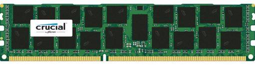 CT16G3ERSLD4160B-Crucial 16GB (1x16GB) DDR3 RDIMM 1600MHz ECC Registered 1.35V Single Stick Server Desktop PC Memory RAM
