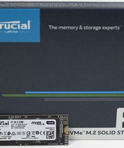 CT500P1SSD8-Crucial P1 500GB M.2 (2280) NVMe PCIe SSD - 3D NAND 1900/950 MB/s Acronis True Image Cloning Software 5yrs wty