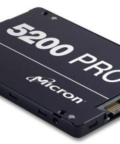 "MTFDDAK960TDD-1AT16ABYY-Micron 5200 PRO 960GB 2.5"" SATA3 6Gbps 7mm Server Data Centre SSD 3D TLC NAND 540R/520W MB/s 95K/32K IOPS 2DWPD 3 Mil hrs 5yrs Crucial"