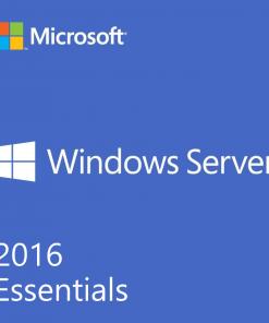G3S-01045-Microsoft Windows Server Essentials 2016 64Bit English 1pk DSP OEI DVD 1-2CPU