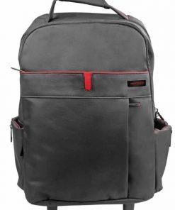 "TROLLEYPAK-1.BLK-Promate ""trolleyPak-1""Premium Multi-purpose Portable Trolley Bag for Laptops upto 15.6"""