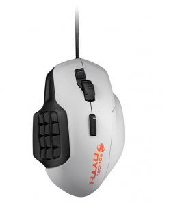 ROC-11-901-AS-Roccat NYTH Modular MMO 12000dpi Gaming Mouse White