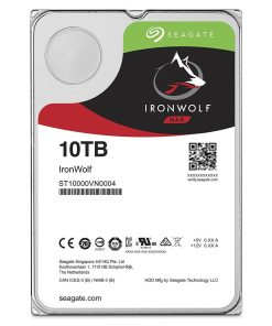 "ST10000VN0004-Seagate 10TB 3.5"" IronWolf  SATA3 NAS 24x7 7200RPM 256MB Cache. Performance HDD. 3 Years Warranty (LS) > HASEA10TB-IWNAS8"