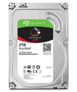"""ST2000VN004-Seagate 2TB 3.5"""" IronWolf NAS 5900RPM SATA3 6Gb/s 64MB HDD. 3 Years Warranty"""
