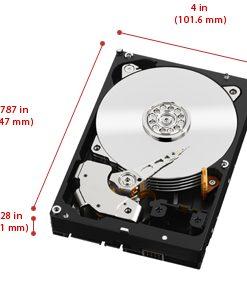 """WD2003FZEX-WD Black 2TB SATA3 64MB 3.5"""" 7200RPM 6Gb/s 64MB Cache HDD"""